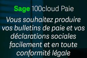 SAGE 100Cloud Paie